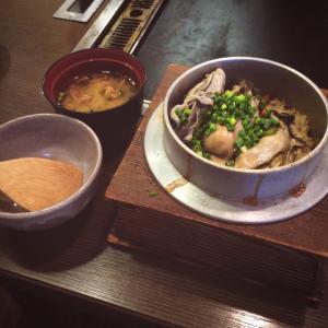 牡蠣の釜めし1