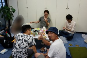 第61回高円寺阿波踊り 社内飲み会